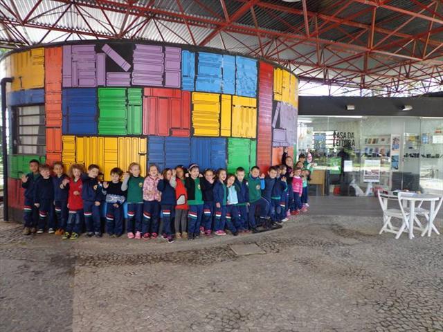 Passeio da Educação Infantil ao Parque São Lourenço e Casa da Leitura Augusto Stresser!