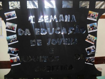 1.ª Semana da Educação de Jovens e Adultos de Curitiba.