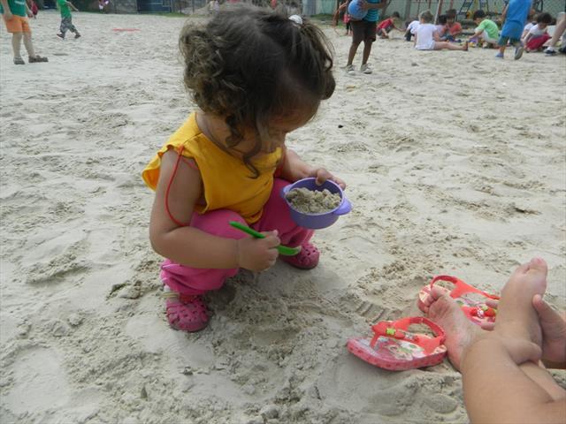 Cancha de areia