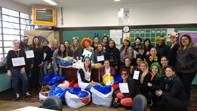Ação voluntária - Faculdades Opet