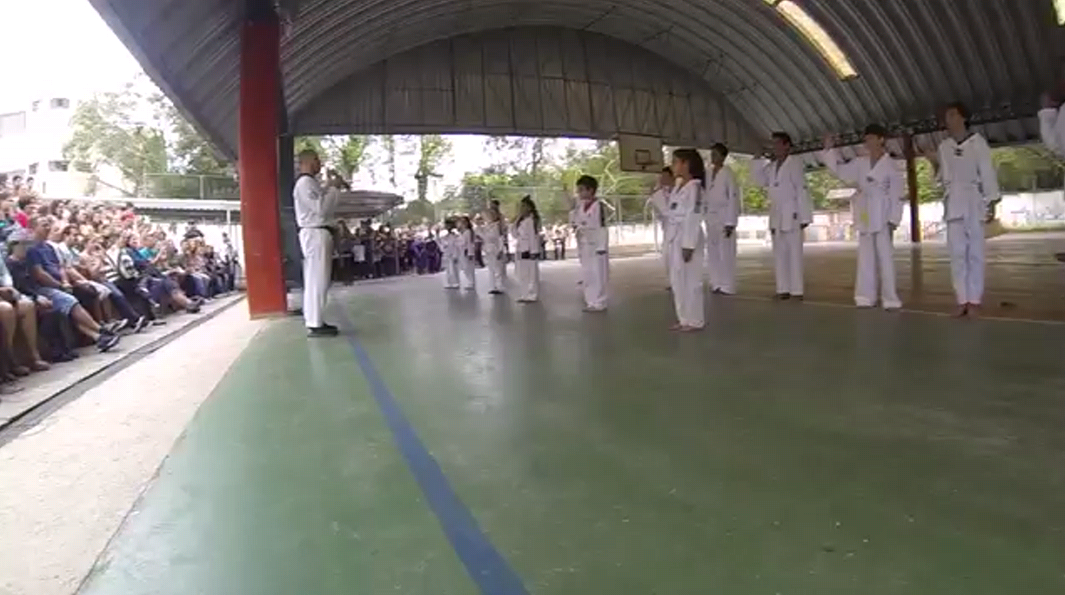 Apresentação de Taekwondo