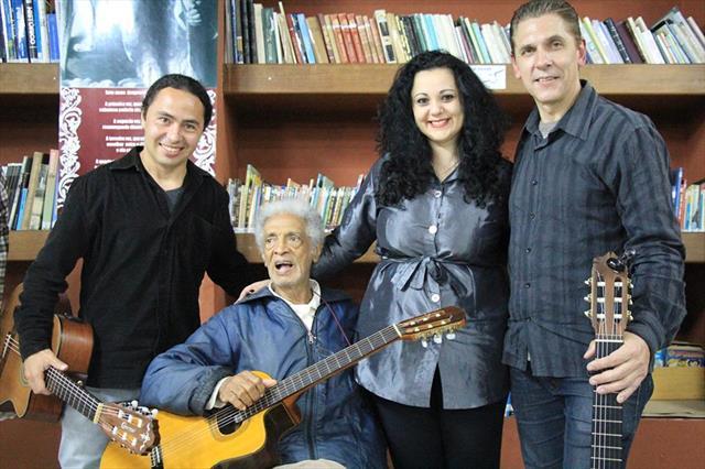 Farol do Saber Gibran Khalil Gibran reúne músicos em bate-papo com Waltel Branco
