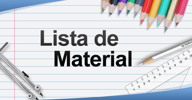 Lista de Material 2016