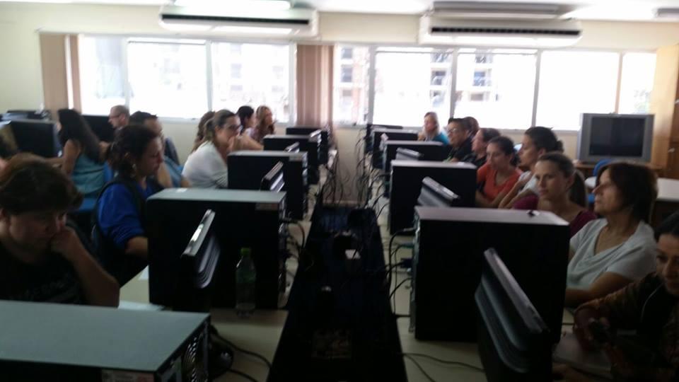 """Curso """"Página das unidades: promovendo práticas pedagógicas"""" (turma da tarde) 4"""