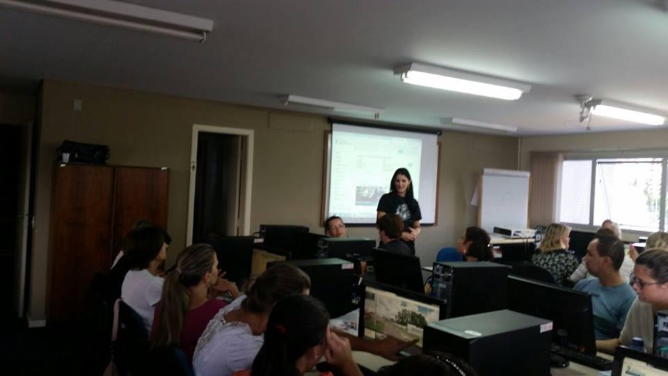 """Curso """"Página das unidades: promovendo práticas pedagógicas"""" (turma da tarde) 3"""