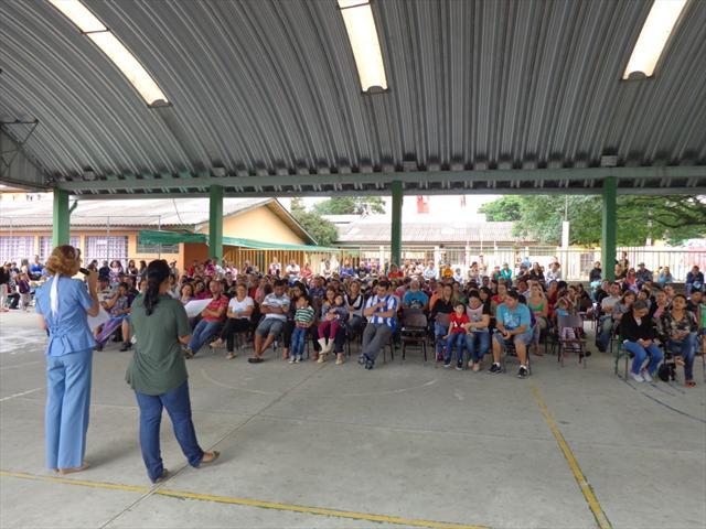 A primeira assembleia aconteceu dia 07 de março.