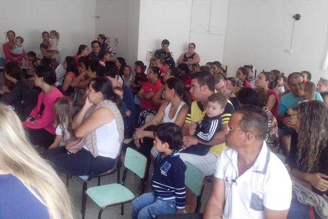 Primeira reunião e integração com os pais 28 de fe