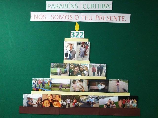 Feliz Aniversário Curitiba!