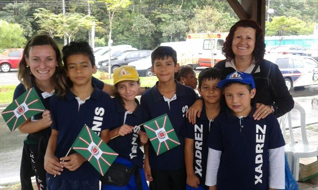 Projetos da Escola Nympha participam da festa de aniversário de Curitiba