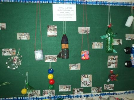 Brinquedos com Materiais Reciclados