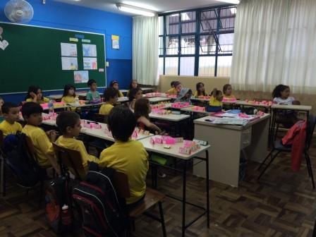 Jogo matemático desenvolvido com os alunos dos ter