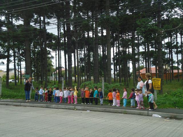 Fotos das atividades do Aniversário de Curitiba