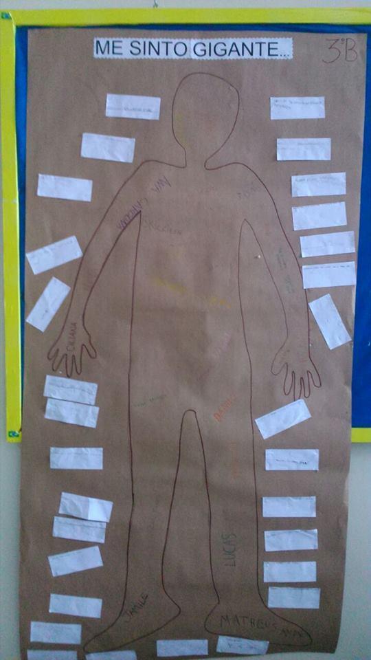 Aprendendo sobre o corpo humano