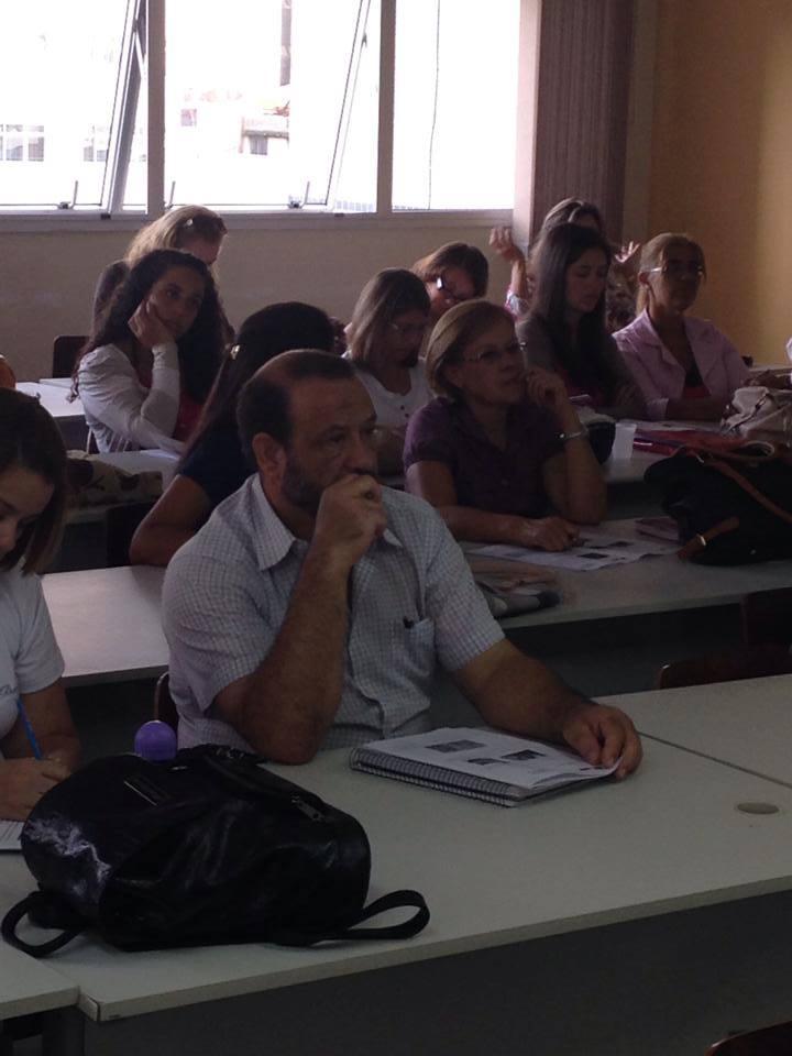 No mês de abril os professores  do  Ciclo II iniciaram um curso com as alfabetizadoras do NRE para debater as práticas pedagógicas mais eficazes no dia-a-dia de sala de aula.