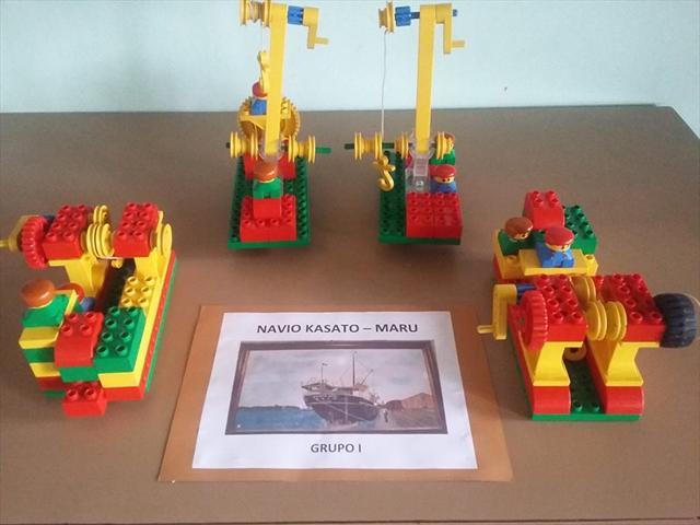 Trabalho sobre Etnias utilizando o Lego