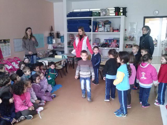 Escola visita pré