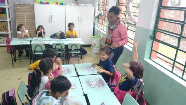 Bingo Alfabético no acompanhamento pedagógico.