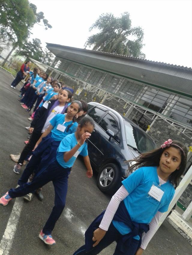 Visita a Escola de Trânsito