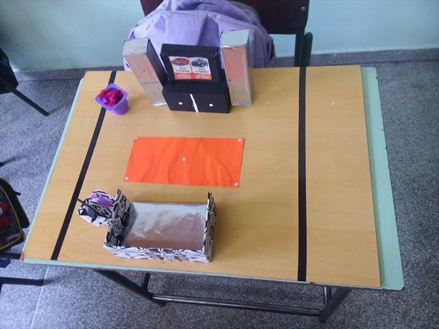 4ºs e 5ºs anos trabalham com representações construindo maquetes