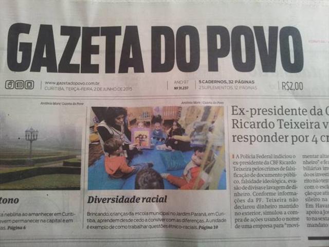 Saiu na Gazeta do Povo!