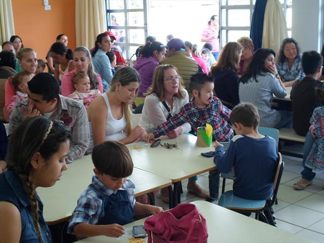 Festa Junina com as crianças e familiares