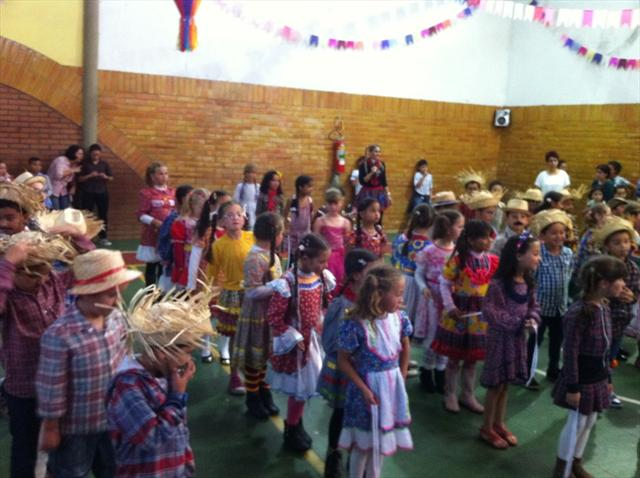 Festa Junina no Cei Belmiro César.