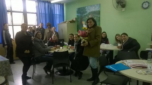 Aposentadoria da professora Lorena Cabral
