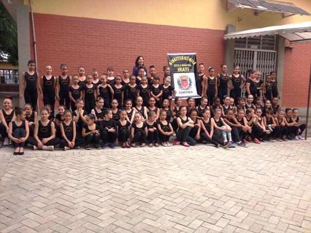 Alunas da Ginástica Rítmica do Irati participam de Torneio