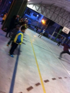 Confraternização do  Projeto de Futsal