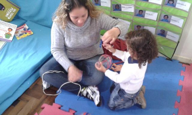 brincar com seu filho (a)
