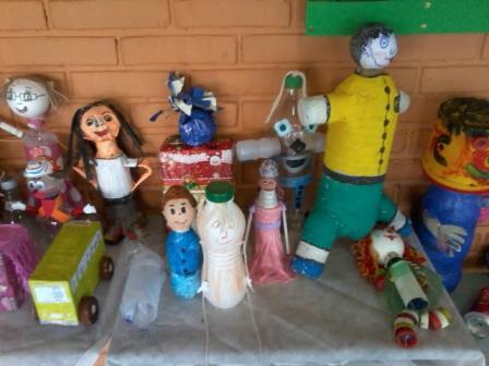Bonecas Recicladas