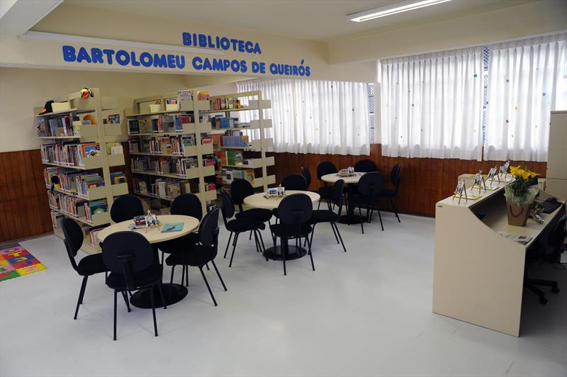 Inauguração da Biblioteca Escolar Bartolomeu Campos de Queirós