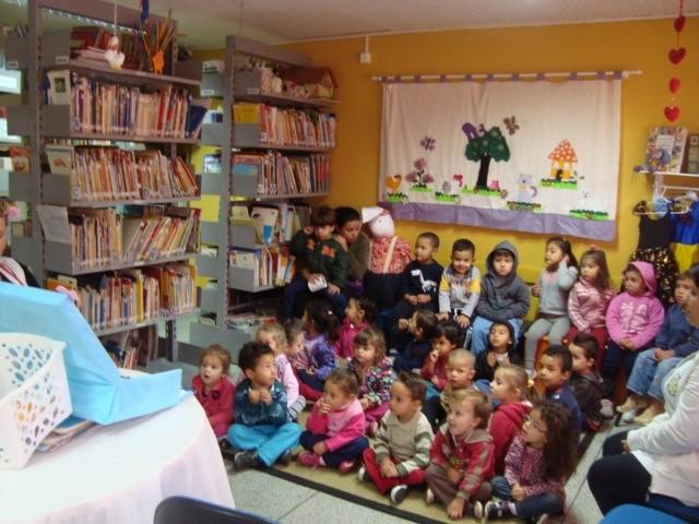 Biblioteca na escola
