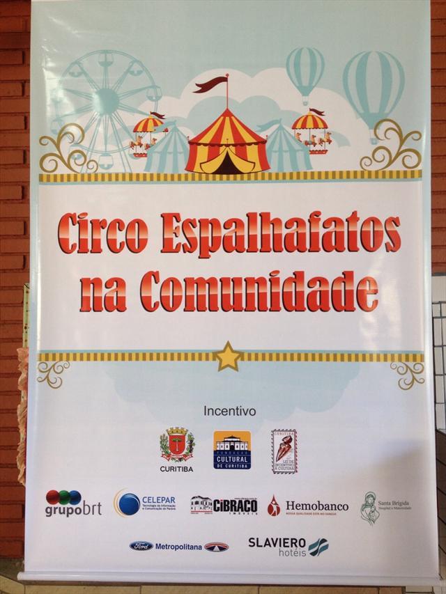 Circo Espalhafatos na Comunidade esteve no Irati!