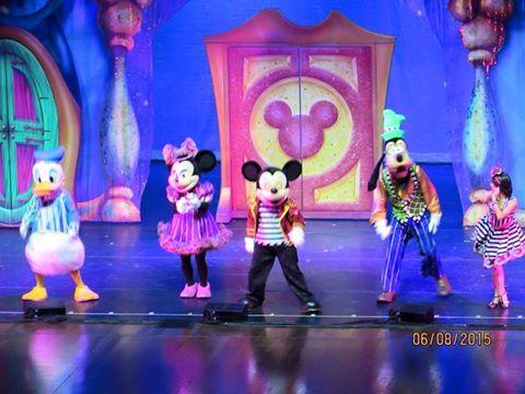 Espetáculo Disney Live