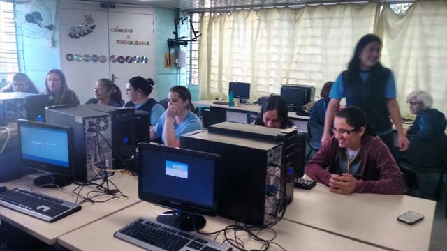 3ª OTP na Escola Lina Moreira