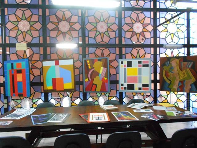 Exposição de quadros de João Carlos Tissot no Farol Gibran Khalil Gibran