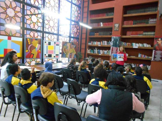 Estudantes da Escola Municipal Professor Brandão realizam visita ao Farol do Saber Gibran Khalil Gibran