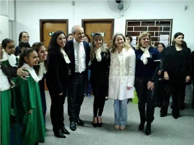 Noite Cultural Literária no CEREJA da Escola Rachel Mader.