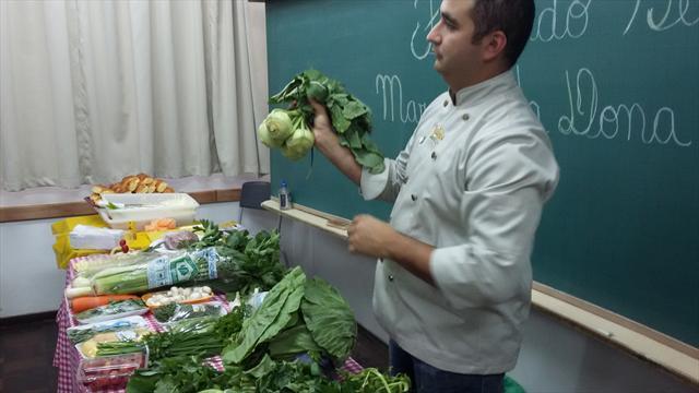 Feira de hortaliças