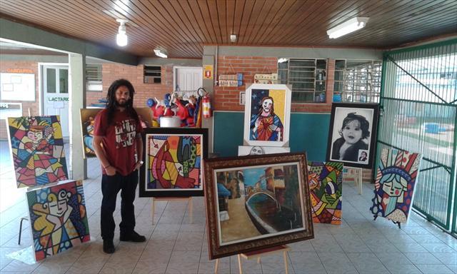 Dia da Arte no CMEI