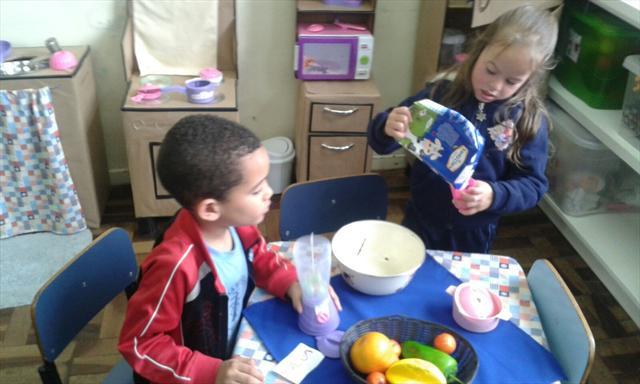 Infância - brincando de aprender