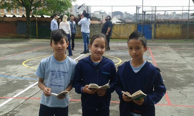 E.M. Arapongas e ONG Mais Educação