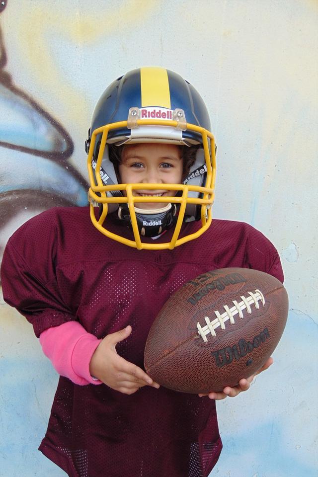 Incentivo ao esporte com o Futebol Americano