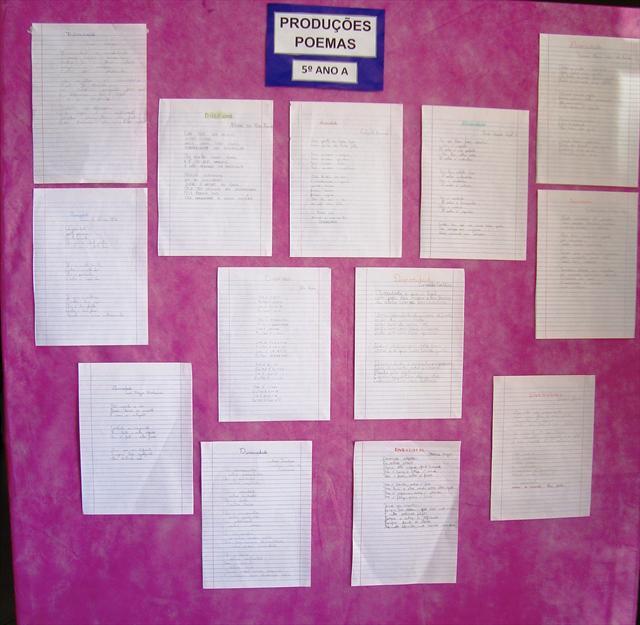 Produções Poemas 1