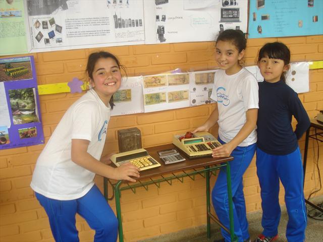 Exposição sobre equipamentos tecnológicos