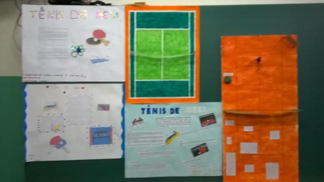 trabalho realizado em Educação física