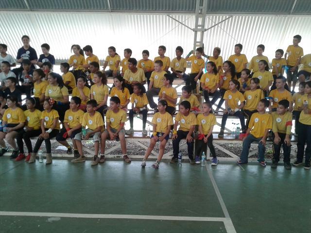 O CEI Érico Veríssimo nos Jogos de Educação Física do Boqueirão