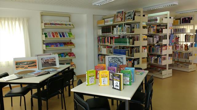 Inauguração da Biblioteca Escolar Sylvia Orthof