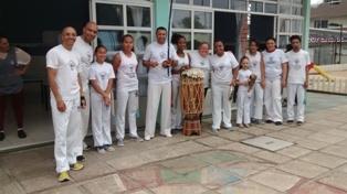 Grupo de Capoeira do mestre Geraldo Mariano